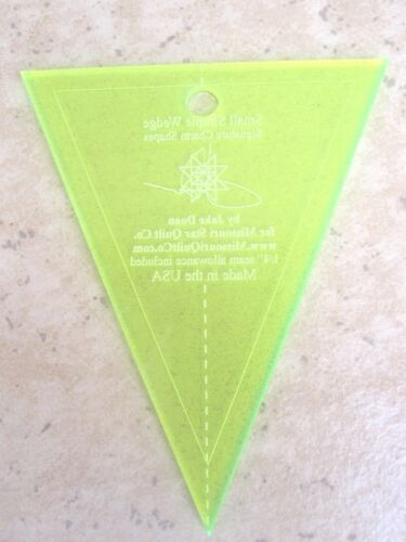 Small Simple Wedge Charm Pack Template for Charm Packs Missouri Star Quilt Co