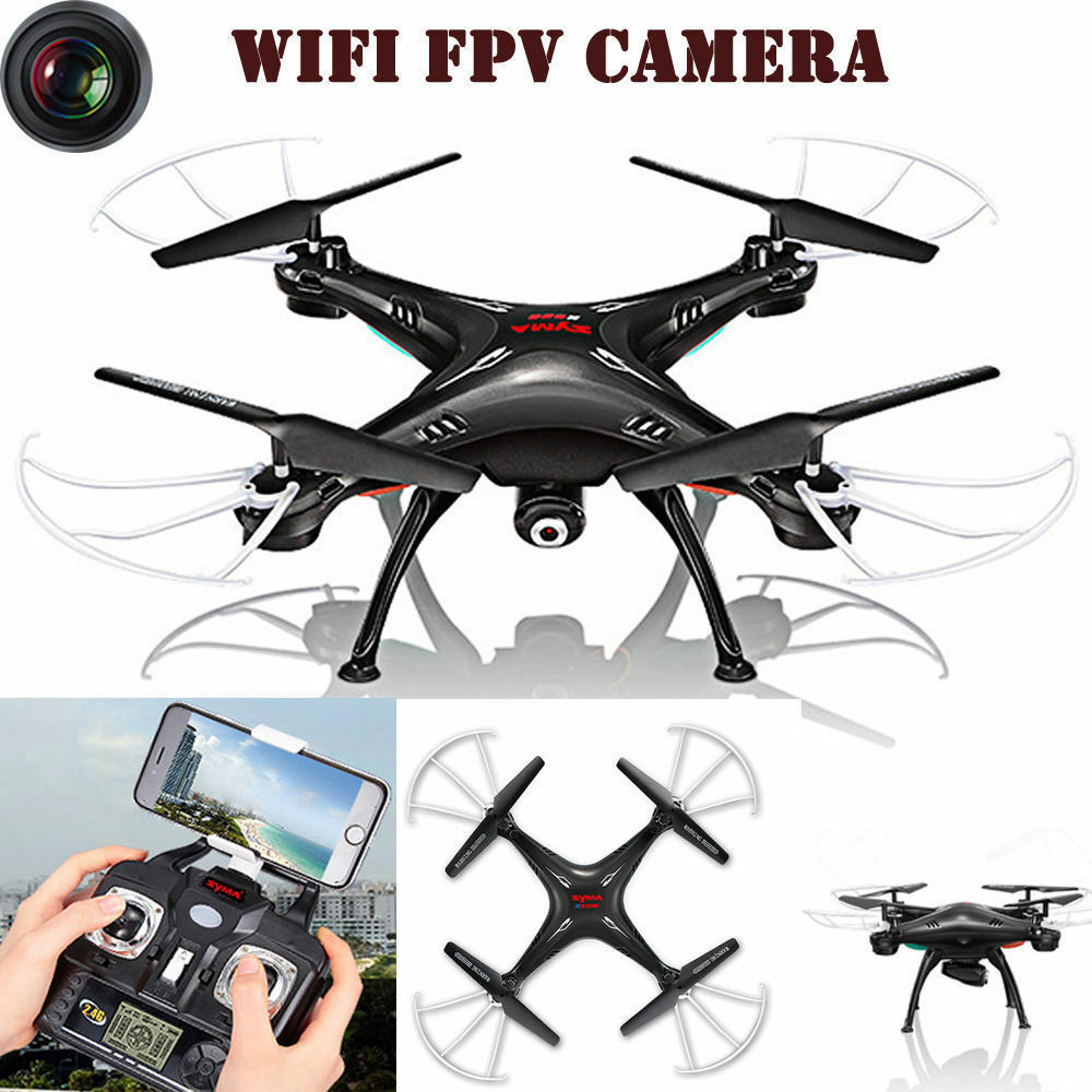 Drone- SYMA X5SW 6-Axis Quadcopter Drone Transmission Wifi HD Camera View RC