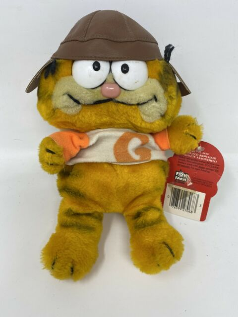 "10"" Garfield Armchair Athlete Bean Bag Football #27-0680 ..."