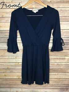 Juniors-Blue-Dress-Size-Small