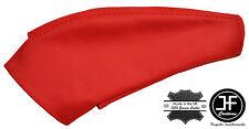 RED REAL LEATHER HANDBRAKE GAITER FITS MITSUBISHI 3000GT GTO 1991-2000