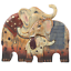 NEW-Cute-Entwined-Kissing-Elephant-Heart-Statue-Animals-Family-Resin-Ornaments thumbnail 23