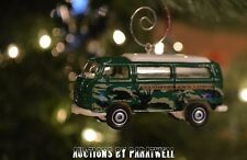 Volkswagen Vanagon T2 Bus Custom Christmas Ornament VW Samba Van 1/64 Camper TII
