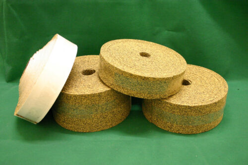 Rubber Bonded Cork Strips (Various thicknesses, widths and lengths)