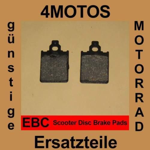Bremsbeläge EBC Piaggio/Vespa SKR 150 vorne
