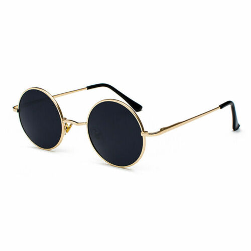 Retro Round Polarized Sunglasses Women Men Eyewear Shades Prince Fishing UV400