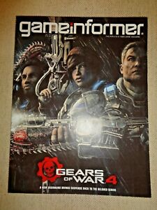 GAME INFORMER MAGAZINE Issue# 276 APRIL 2016 GEARS OF WAR 4 Games Video Computer
