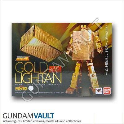 Bandai Tamashii Soul of Chogokin GX-32G24 Gold Lightan 24K Plating Action Figure