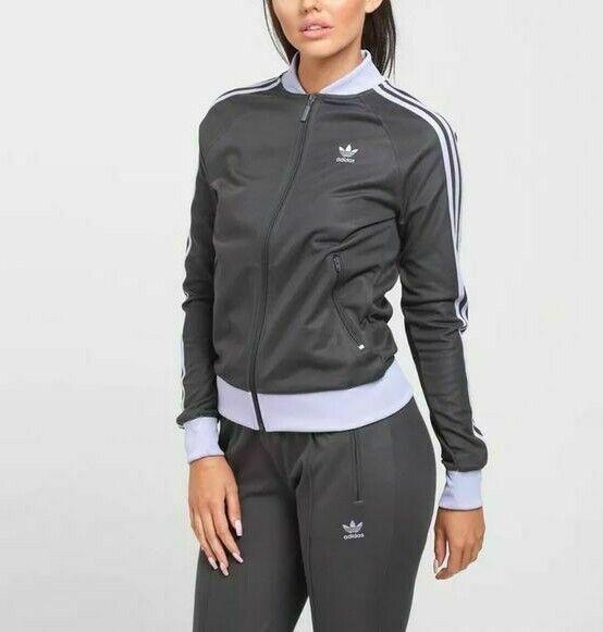 Purple Ladies Womens New Adidas Climaool Track Top Tracksuit Jacket