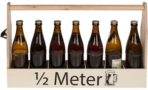 Biertraeger-mit-Flaschenoeffner-1-2-Meter-Bier-Flaschentraeger-Holz-Bierkasten-NEU
