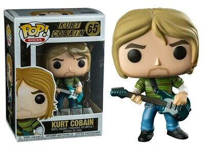 Funko Pop Rocks Kurt Cobain 65 Vinyl Figure