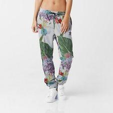 ADIDAS floral track pants trousers AJ8884 pantaloni tuta donna S 42 IT BNWT
