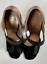Indexbild 3 - Prada Iconic Retro Satin Sandals Shoes Slingback Schuhe Peep Open Toe Pumps 39