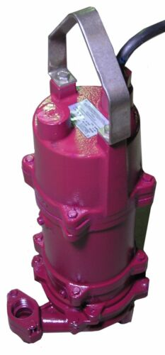 2HP Grinder Pump 230V External Cap Start Standard Head Float Include MDI G2-21SE