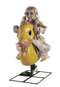 New For 2019 Brand New Animated Rocking Elephant Clown Halloween Prop