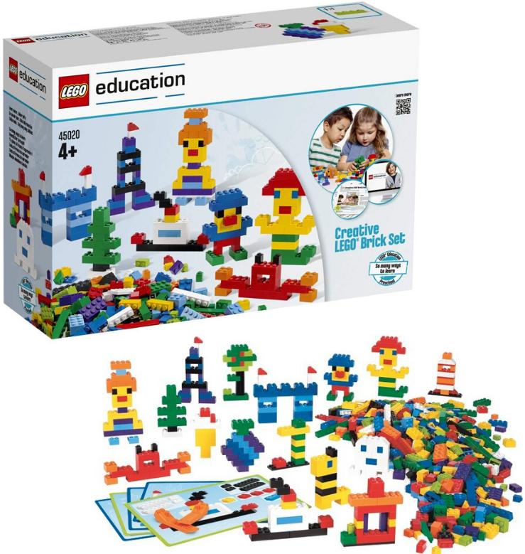 LEGO Education 45020 Ensemble de 1000 briques Jeux de construction Jouet Enfants