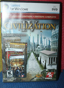sid meier s civilization iv the complete edition pc dvd rom with box rh ebay co uk Civ 4 Expansion Order Civ IV Warlords Cheats