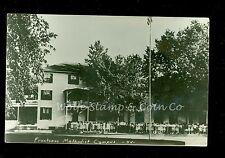 1952 RPPC Girls in front of Dorm at Frontenac Methodist Campus Frontenac MN B530