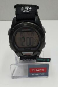 Timex Men's Expedition | Black Chronograph & Indiglo | Digital Watch T49949