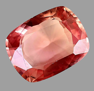 AAA+ Ceylon 20.35Ct Natural Padparadscha Sapphire Cushion Cut Gemstone-CERTIFIED