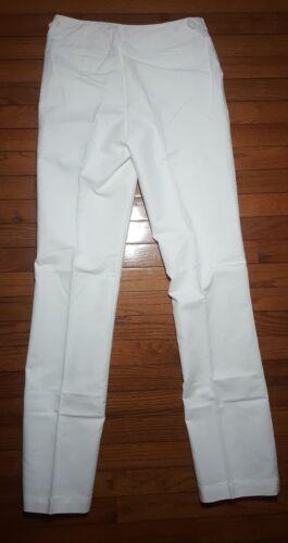 Coldwater Creek Womans White Pants Natural Fit Size 4 Long L4