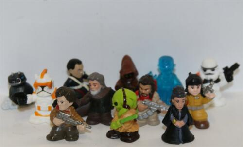 STAR WARS MICRO FORCE WAVE 3 FULL SET OF 12 MINI FIGURES