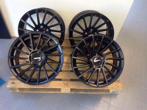 8,5 + 9,5 x 19 Zoll Felgen kombination TORNADO für BMW 3er E90 E91 E92 E93
