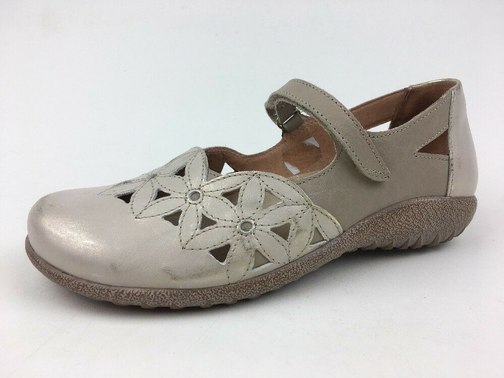 Naot femmes's Taotoa Mary Janes chaussures Taille EUR 38, Dusty argent 445