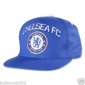 1294d5e23a3 Image is loading Chelsea-Snapback-Adjustable-Cap-Hat-blue-white-Eden-
