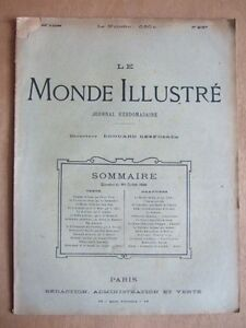 LE-MONDE-ILLUSTRE-30-JUILLET-1898-N-2157-JOURNAL-HEBDOMADAIRE-Dir-E-DESFOSSES