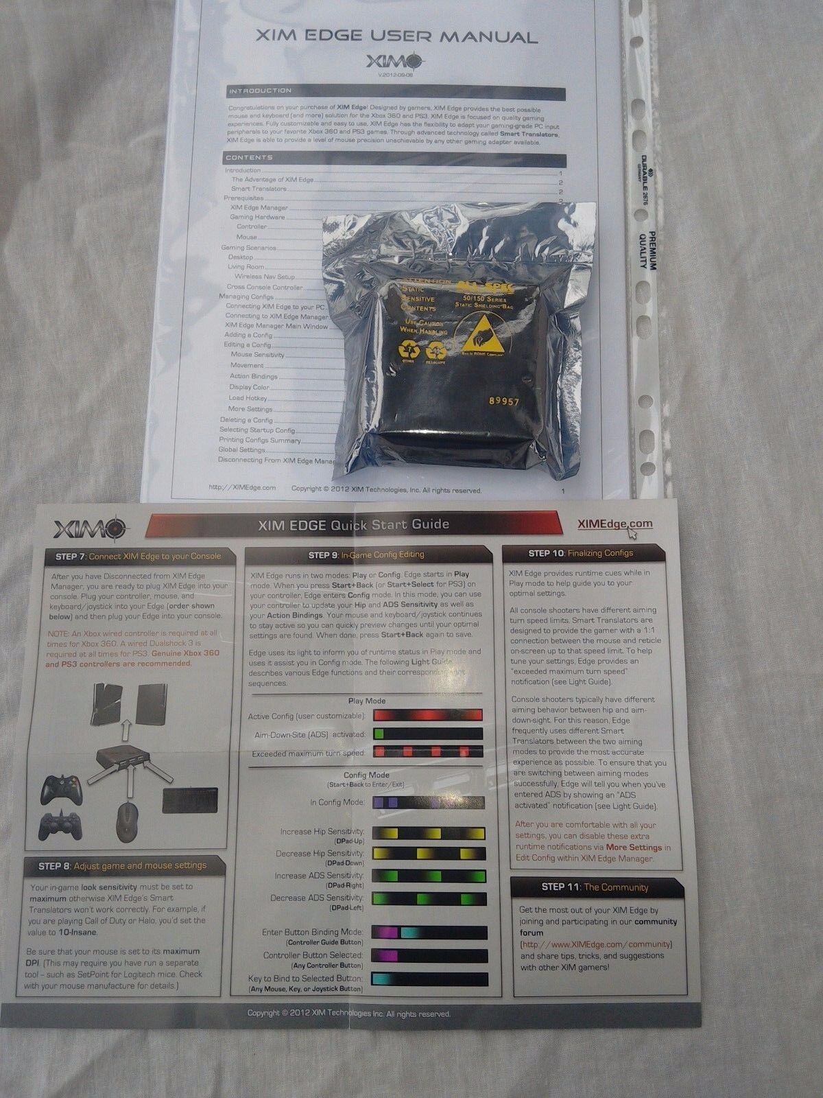 XIM Edge Mouse & Keyboard Adapter for Xbox 360 and Ps3 GBP 130
