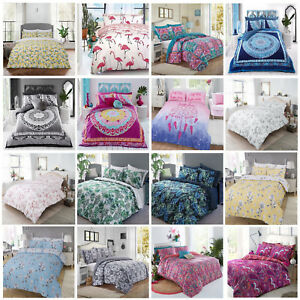 Paisley-Mandala-Duvet-Cover-with-Pillow-Case-Quilt-Cover-Bedding-Set-All-Sizes
