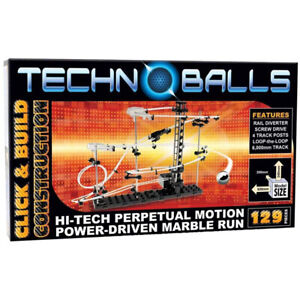 Techno-Balls-129-Marble-Run-Roller-Coaster-Spacerail-Children-039-s-Christmas-Gift