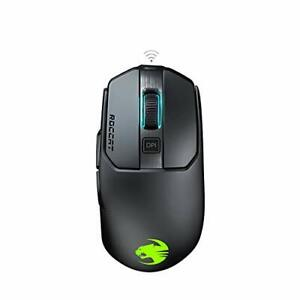 PC Roccat Kain 200 AIMO RGB Gaming Maus 16000 Dpi OwlEye Sensor, Kabellos, Titan