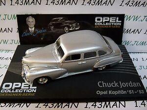 OPE134R-1-43-IXO-designer-serie-OPEL-coleccion-KAPITAN-51-53-Chuck-JORDAN