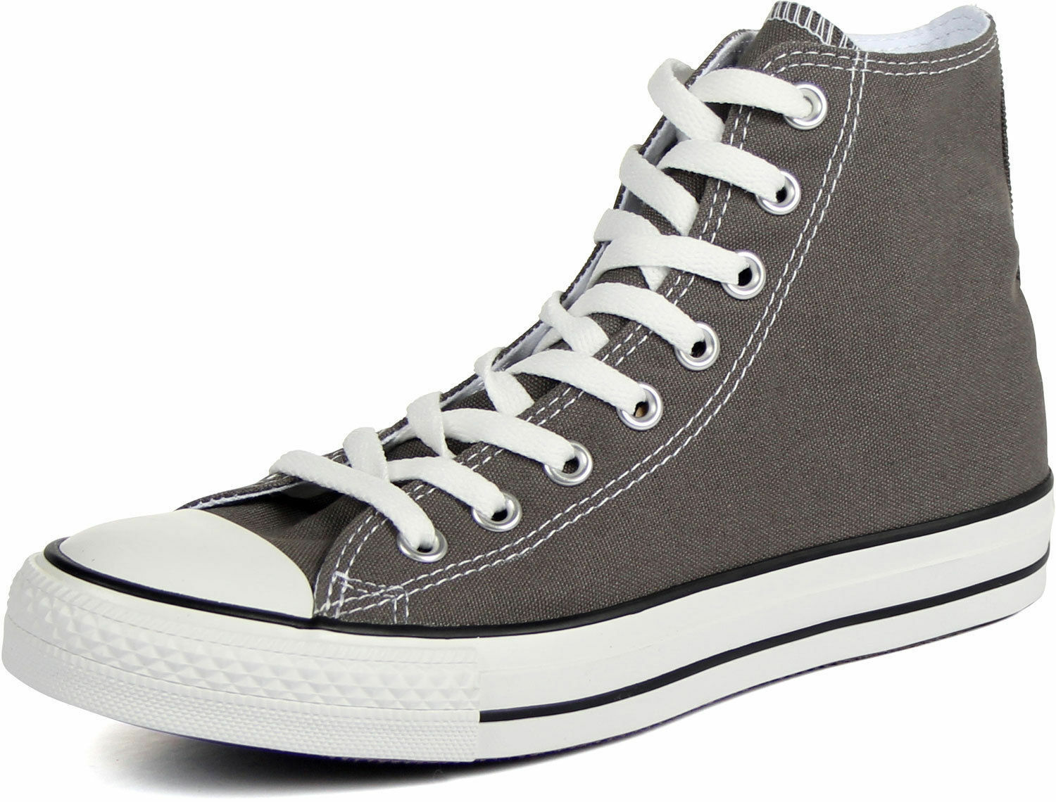 CONVERSE ALL STAR CHUCK TAYLOR HI SEASNL MEN SHOES GREY WHITE J793 SIZE 11 NEW