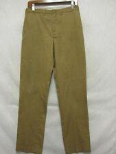A9959 Town craft Penn-prest Vintage 60's Grungy Dark Mustard Pants Men 29x31