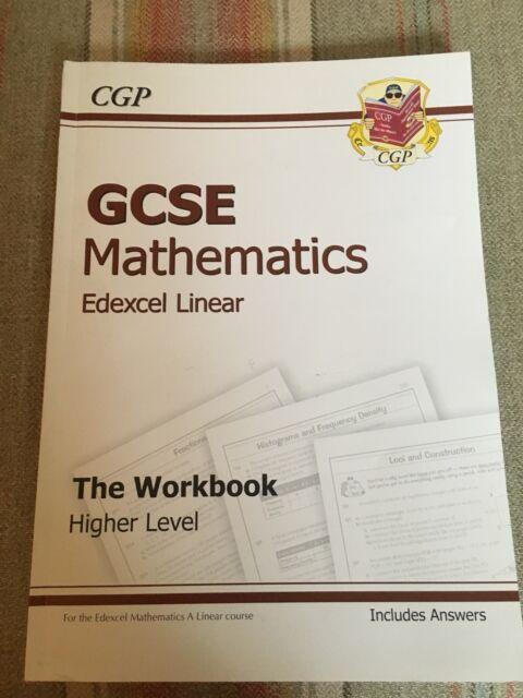 CGP GCSE Mathematics Edexcel Linear The Workbook Higher Level 9781847624932