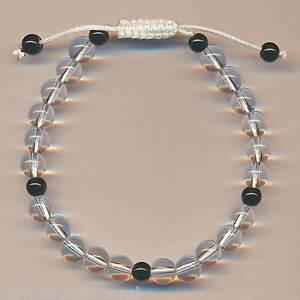 Armband-Bergkristall-Bracelet-Schmuck-7mm-Nepal-Bangle-Pulsera-90g