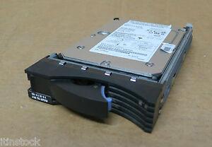 Infatigable Ibm Eserver Xseries 18.2 Go, 15k Ultra 160 Hot Plug Disque Dur Caddy 24p3772-afficher Le Titre D'origine