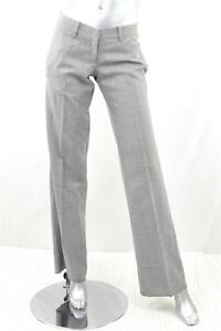 047761da3934eb Image is loading LEONARDO-AGUIRRE-WOMENS-Light-Grey-Dress-Classic-PANTS-