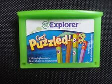 Leapfrog Leapster Explorer GET PUZZLED! Learning Game Leap Pad,2,3,GS, XDi Ultra