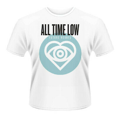 All Time Low - Future Hearts T-shirt Unisex Tg. Xl Phm Squisita Arte Tradizionale Del Ricamo