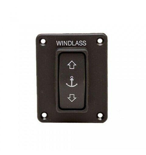 68001256 CHSX Foot Open Top Black Lewmar Switch-Windlass Model