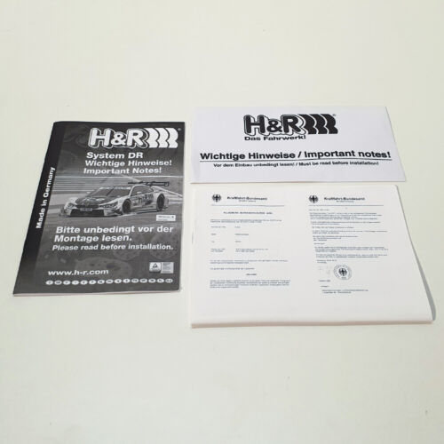 MINI Spurplatten FS H/&R ABE Spurverbreiterung sw DR 22=2x11mm für BMW 2 5 7 i u