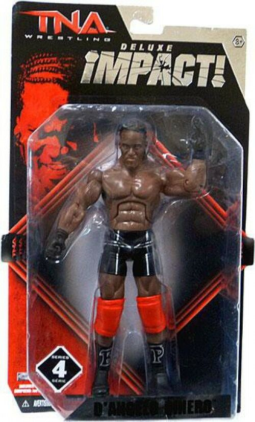 TNA Wrestling Deluxe Impact Series 4 D'Angelo Diblack Action Figure [Pope]