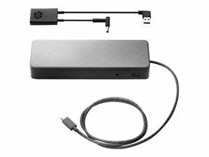 HP-2UF95UT-ABA-Universal-Docking-Station-2-x-DP-GigE-90-Watt-USB-C-NEW