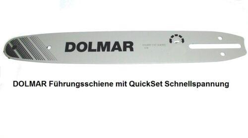 """für Kettensäge 3x Kette 3//8/""""Ho 1,1mm Nutbr Dolmar ES PS QuickSet Schwert 35cm"""