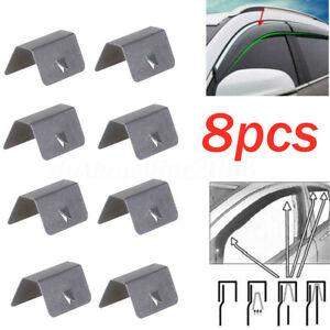 8pcs-dans-canal-deflecteur-pluie-raccord-remplacement-des-Clips-pour-Clip-Heko