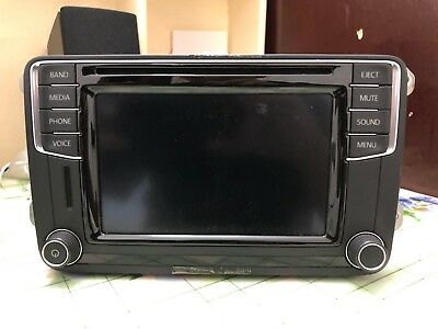 Genuine Volkswagen Bluetooth Carplay Android Auto MIB2 STD2 Radio 5C0035200  | eBay